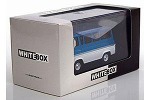 1:43 White Box Ford Econoline 1964 bluemetallic//White