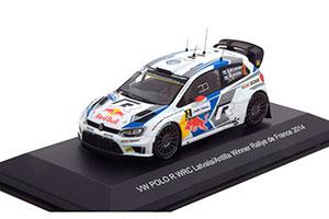 VW VOLKSWAGEN POLO R WRC #2 FIA WORLD RALLY CHAMPIONSHIP RALLYE FRANKREICH 2014 J-M.LATVALA/M.ANTTILA *ФОЛЬКСВАГЕН ФОЛЬЦВАГЕН