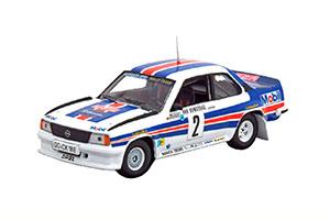 OPEL ASCONA 400 WINNER RALLY MONTE CARLO 1982 RÖHRL/GEISTDÖRFER WITH ROTHMANS DECALS