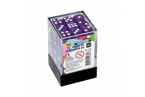 TABLE GAME SET OF PURPLE GAME CUBES 36D | НАБОР ФИОЛЕТОВЫХ ИГРОВЫХ КУБИКОВ «36D *СБОРНАЯ МОДЕЛЬ