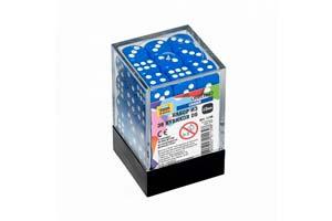 TABLE GAME SET OF BLUE GAME CUBES 36D6 | НАБОР СИНИХ ИГРОВЫХ КУБИКОВ «36D6» *СБОРНАЯ МОДЕЛЬ