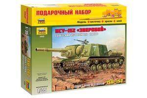 MODEL KIT SOVIET TANK FIRER ISU-152