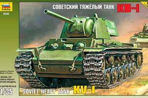 MODEL KIT HEAVY SOVIET PANZER KV-1 WITH ADHESIVE BRUSH AND PAINTS. | ТЯЖЕЛЫЙ СОВЕТСКИЙ ТАНК КВ-1 С КЛЕЕМ КИСТОЧКОЙ И КРАСКАМИ.