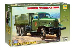 MODEL KIT SOVIET TRUCK ZIS-151 4.5 TONS | СОВЕТСКИЙ ГРУЗОВИК ЗИС-151 4,5 ТОННЫ