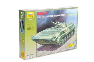 MODEL KIT SOVIET BATTLE WELDING MACHINE OF THE BMP-1 | СБОРНАЯ МОДЕЛЬ СОВЕТСКАЯ БОЕВАЯ МАШИНА ПЕХОТЫ БМП-1 *СБОРНАЯ МОДЕЛЬ