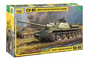 MODEL KIT PANZER TANK DESTROER SU-85 | СОВЕТСКИЙ ИСТРЕБИТЕЛЬ ТАНКОВ СУ-85 *СБОРНАЯ МОДЕЛЬ