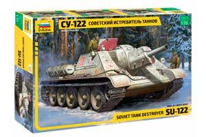 MODEL KIT PANZER TANK DESTROER SU-122 | СОВЕТСКИЙ ИСТРЕБИТЕЛЬ ТАНКОВ СУ-122 *СБОРНАЯ МОДЕЛЬ