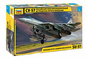 MODEL KIT FIGHTER OF THE FIFTH GENERATION SU-57 | ИСТРЕБИТЕЛЬ ПЯТОГО ПОКОЛЕНИЯ СУ-57