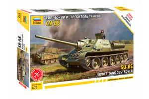 MODEL KIT PANZER TANK DESTROER SU-85 TANK | СОВЕТСКИЙ ИСТРЕБИТЕЛЬ ТАНКОВ СУ-85 *СБОРНАЯ МОДЕЛЬ