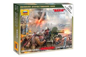 MODEL KIT SOVIET MACHINE GUN