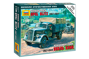 MODEL KIT GERMAN TRUCK OPEL BLITZ 1937-1944 | НЕМЕЦКИЙ ГРУЗОВИК ОПЕЛЬ БЛИЦ 1937-1944