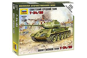 MODEL KIT SOVIET PANZER TANK T-34/85 | СОВЕТСКИЙ ТАНК Т-34/85