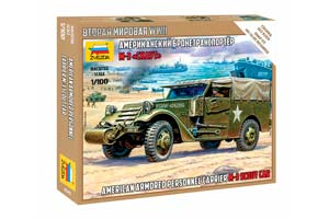 MODEL KIT AMERICAN ARMORED M-3