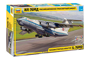MODEL KIT RUSSIAN MILITARY TRANSPORT AIRCRAFT