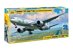 MODEL KIT BOEING 777-300 AIRCRAFT | САМОЛЕТ БОИНГ 777-300