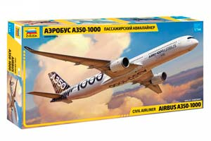 MODEL KIT AIRCRAFT A350-1000 | САМОЛЕТ A350-1000 *СБОРНАЯ МОДЕЛЬ