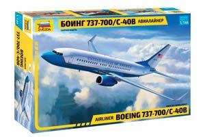 MODEL KIT PASSENGER AIRLINER BOEING 737-700 С-40B | ПАССАЖИРСКИЙ АВИАЛАЙНЕР БОИНГ 737-700 С-40B