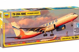 MODEL KIT TU-204-100S CARGO AIRCRAFT | ГРУЗОВОЙ САМОЛЕТ ТУ-204-100С *СБОРНАЯ МОДЕЛЬ