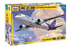 MODEL KIT PASSENGER AIRLINER MS-21-300 | ПАССАЖИРСКИЙ АВИАЛАЙНЕР МС-21-300 *СБОРНАЯ МОДЕЛЬ