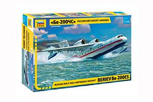 MODEL KIT AIRPLANE-AMPHIBIA BE-200CHS | САМОЛЁТ-АМФИБИЯ БЕ-200ЧС