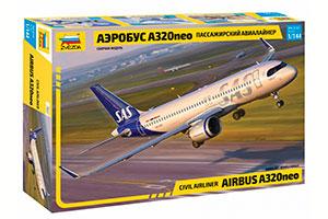 MODEL KIT PASSENGER AIRLINER A320NEO AIRBUS | ПАССАЖИРСКИЙ АВИАЛАЙНЕР АЭРОБУС А320NEO