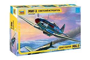 MODEL KIT SOVIET FIGHTER MIG-3 | СОВЕТСКИЙ ИСТРЕБИТЕЛЬ МИГ-3