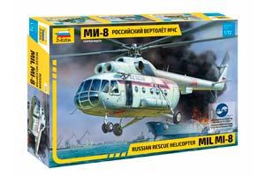 MODEL KIT RUSSIAN HELICOPTER EMERCOM OF MI-8 | РОССИЙСКИЙ ВЕРТОЛЁТ МЧС МИ-8 *СБОРНАЯ МОДЕЛЬ