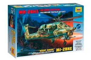 MODEL KIT RUSSIAN SHOCK HELICOPTER MI-28NE NIGHT HUNTER | СБОРНАЯ МОДЕЛЬ - РОССИЙСКИЙ УДАРНЫЙ ВЕРТОЛЕТ МИ-28НЭ