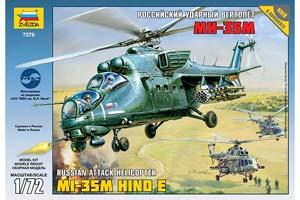 MODEL KIT RUSSIAN SHOCK HELICOPTER MI-35M | РОССИЙСКИЙ УДАРНЫЙ ВЕРТОЛЕТ МИ-35М *СБОРНАЯ МОДЕЛЬ