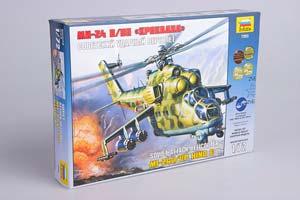 MODEL KIT SOVIET SHOCK HELICOPTER MI-24V/VP KROKODIL | СБОРНАЯ МОДЕЛЬ - СОВЕТСКИЙ УДАРНЫЙ ВЕРТОЛЕТ МИ-24В/ВП