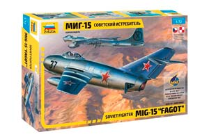 MODEL KIT SOVIET FIGHTER