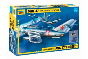 MODEL KIT SOVIET FIGHTER MIG-17 | СОВЕТСКИЙ ИСТРЕБИТЕЛЬ МИГ-17