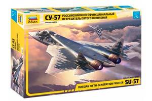 MODEL KIT AIRCRAFT SU-57 | САМОЛЕТ СУ-57