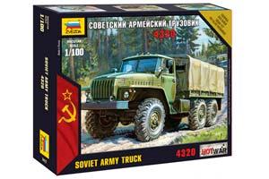 MODEL KIT SOVIET ARMY TRUCK URAL 4320 | СБОРНАЯ МОДЕЛЬ СОВЕТСКИЙ АРМЕЙСКИЙ ГРУЗОВИК
