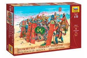 MODEL KIT PERSIAN GROWTH V IV BB. BC. | СБОРНАЯ МОДЕЛЬ ПЕРСИДСКАЯ ПЕХОТА V IV ВВ. ДО Н.Э.