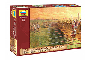 MODEL KIT CARFAGENIAN INFANTRY | КАРФАГЕНСКАЯ ПЕХОТА