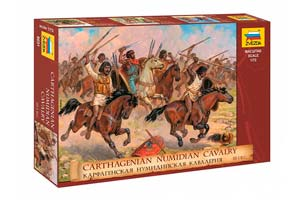 MODEL KIT CARFAGENIAN - NUMIDIAN CAVALERIA | КАРФАГЕНСКАЯ – НУМИДИЙСКАЯ КАВАЛЕРИЯ