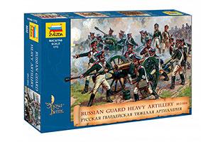 MODEL KIT RUSSIAN GUARDIAN HEAVY ARTILLERY 1812-1814 | РУССКАЯ ГВАРДЕЙСКАЯ ТЯЖЕЛАЯ АРТИЛЛЕРИЯ 1812-1814