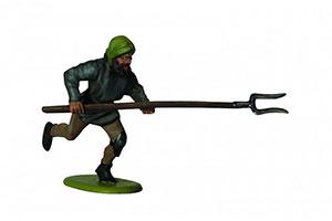 Zvezda Model Kit Z8059/ /Peasants Soldiers/ /1 72/Scale