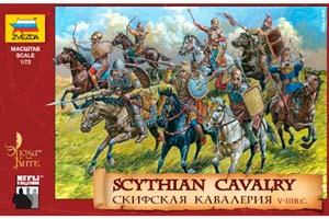 FIGURINE MODEL KIT SCYTHIAN CAVALRY | СКИФСКАЯ КАВАЛЕРИЯ *СБОРНАЯ МОДЕЛЬ