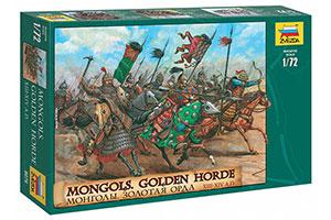 MODEL KIT MONGOLES. GOLDEN HORDE | СБОРНАЯ МОДЕЛЬ МОНГОЛЫ. ЗОЛОТАЯ ОРДА *СБОРНАЯ МОДЕЛЬ