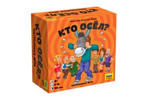 TABLE GAME WHO DID?   КТО ОСЕЛ? *СБОРНАЯ МОДЕЛЬ