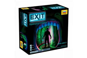 TABLE GAME EXIT QUEST. ROOM OF FEAR | EXIT-КВЕСТ. КОМНАТА СТРАХА *СБОРНАЯ МОДЕЛЬ