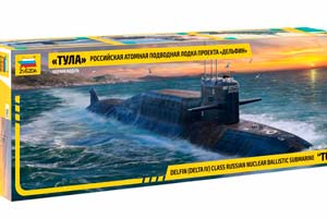 MODEL KIT SUBMARINE PROJECT 667BDRM