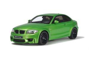 BMW 1ER M COUPE E82 GREEN MAMBA 2013 GREENMETALLIC LIMITED EDITION 504 PCS