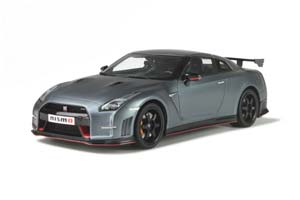 NISSAN GT-R NISMO R35 2016 MATT GRAY LIMITED EDITION 504 PCS.