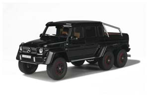 MERCEDES G63 AMG 6X6 2015 BLACK LIMITED EDITION 500 PCS.