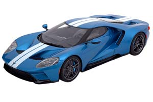 FORD GT 2017 BLUEMETALLIC WHITE LIMITED EDITION 504 PCS